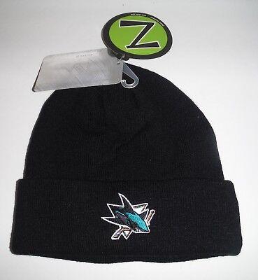 San Jose Sharks NWT  Beanie / Toque/ Knit Hat  Zephyr
