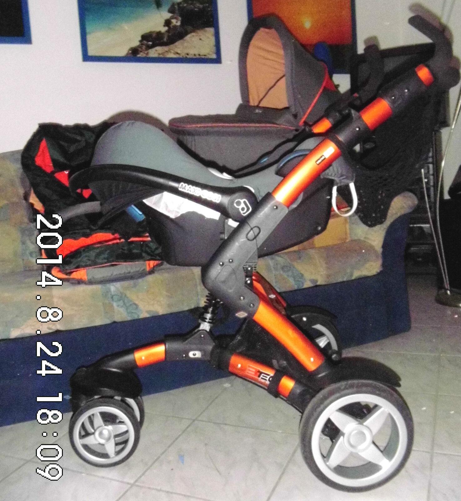 abc design 3 tec kinderwagen maxi cosi babyschale buggy wintersack sonnensc eur 499 00. Black Bedroom Furniture Sets. Home Design Ideas
