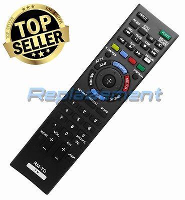 Sony Remote Control RM-YD102 RMYD102 For SONY 3D Bravia XBR, KDL Models TVs ()