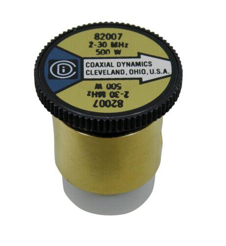 Wattmeter Element Slug 500 Watt 2-30 MHz Bird 43 Coaxial Dynamics 82007 (500H)