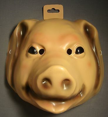 PIG FARM ANIMAL HALLOWEEN MASK PVC  - Animal Mask Halloween