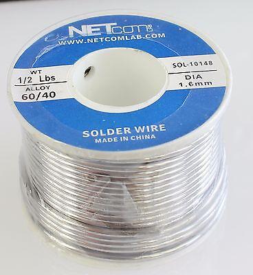 6040 1.6mm 12lbs Tin Lead Rosin Core Solder Flux Soldering Welding Iron Wire R