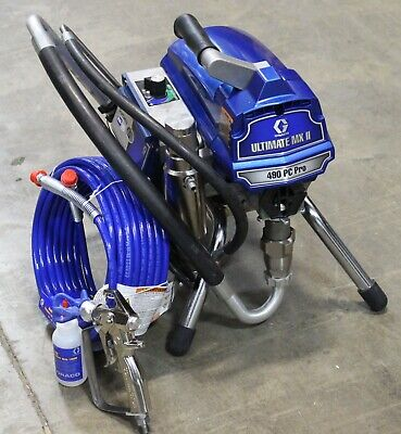 Graco 490 Ultimate Mx Ii Pc Pro Stand Electric Airless Sprayer 826243 - B