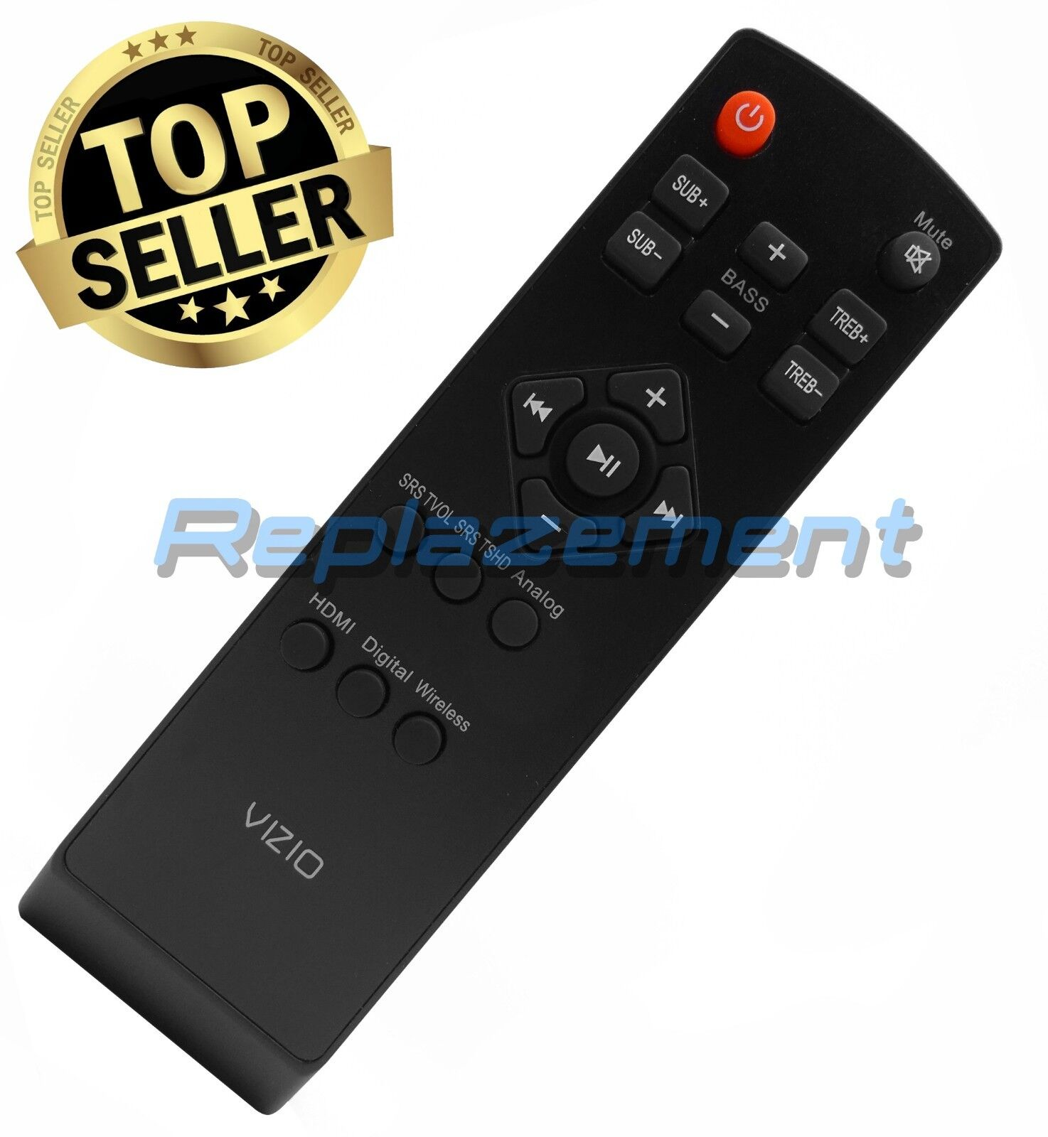 Vizio Universal Sound Bar Remote Control For All Vizio Sound