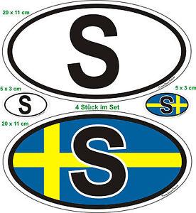 Disques-Lettres-drapeau-Suede-autocollant-voiture-camion-Caravane-Bus-Bateau