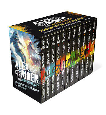 Alex Rider The Complete Missions 11 Books Collection Set By Anthony Horowitz