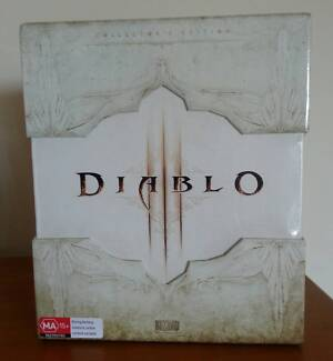 Diablo 3 Collector's Edition PC AUS Brand New Factory Sealed Sydney City Inner Sydney Preview