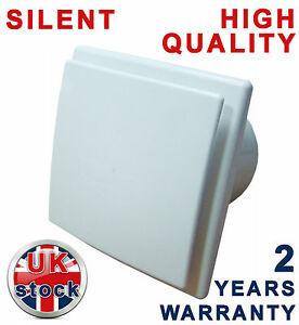 Salle de bain extracteur ventilateur 4 100 mm calme - Ventilateur de salle de bain silencieux ...