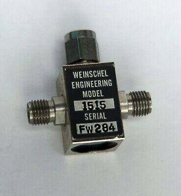 Weinschel Api 1515 Resistive Power Divider Sma Dc-18ghz