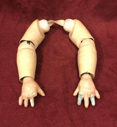 Antique Composition Doll Arms w/ Hands