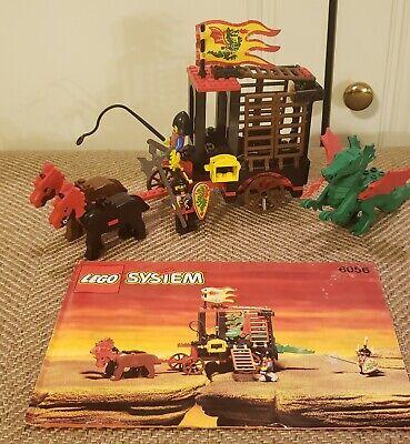 LEGO Vintage Castle Dragon Knights Dragon Wagon 6056 Complete