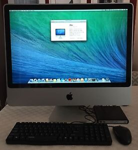 Apple iMac 24 inch early 2008 model Hornsby Hornsby Area Preview