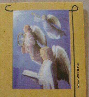 "Angel Choir 12.5"" x 18"" Mini Garden Flag - New in Package"