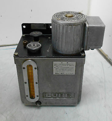 Lube Corp Automatic Lubricator Mmx It-05 3 Phase 220v Used Warranty