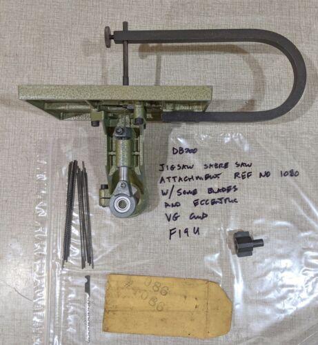Emco Unimat DB200 Lathe Jigsaw & Sabre Saw Attachment Ref No 1080 F19U