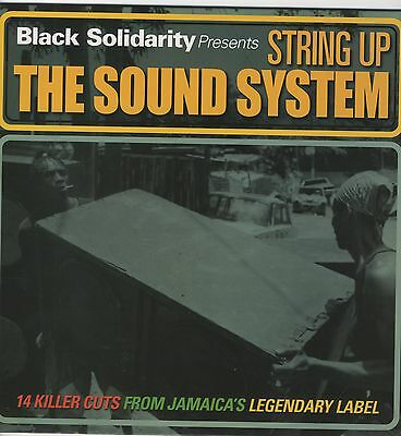 Black Solidarity Presents String Up The Sound System NEW VINYL LP £10.99