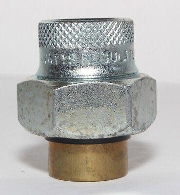 Watts Dielectric Union 34 Fip X 34 Brass
