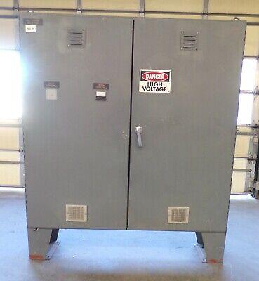 Hoffman Industrial Control Panel Enclosure Double Door 72 X 72 X 18