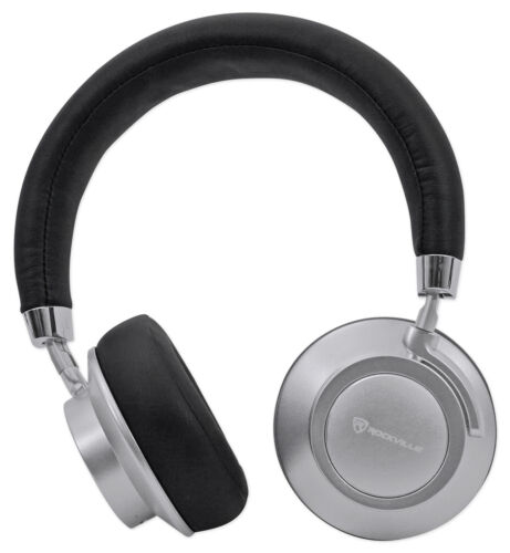 Rockville BTH7 Sleek Bluetooth Headphones /Perfect Sound/Swi