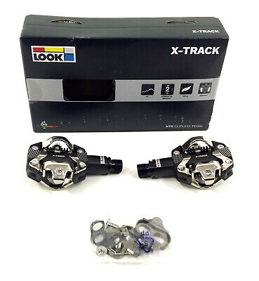211b069f948 Look X-Track Pedals and Cleat System, SPD Compatible