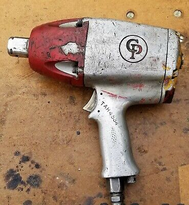 Vintage 1 Chicago Pneumatic Impact Wrench Working Condition B6f5