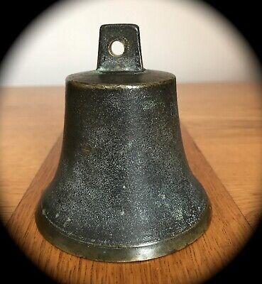 Antique Bronze Servants  Bell Marked 9