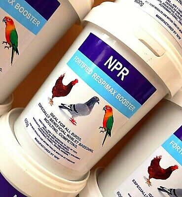 Respimax Racing Pigeons Poultry Birds Respiratory Treatment Supplement Tea Herbs