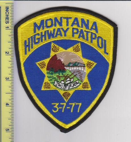 US Police Patch Montana Highway Patrol
