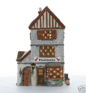 Department 56 Dickens 39 Village Collectible Poulterer 1988