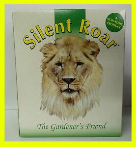 Silent Roar Cat Deterrent / Repeller Lion Manure Pellets Garden Fertilizer 500g