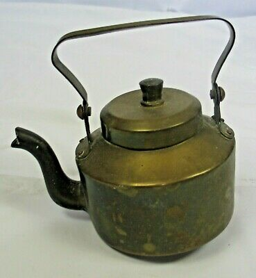 Vintage small brass kettle