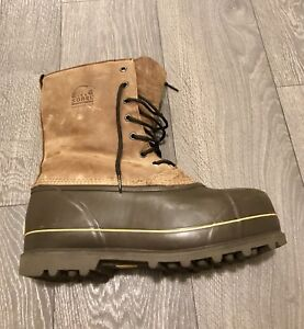 Hand Crafted Sorel Boot -40 C Men's Winter Boot Size 11