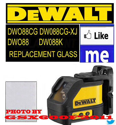 DEWALT DW088 DW088K DW088CG/088CGXJ REPLACEMENT GLASS/LASER/REPAIR GET TOMORROW