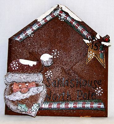 Rusted Tin Santa's House North Pole Envelope by DCC - 7