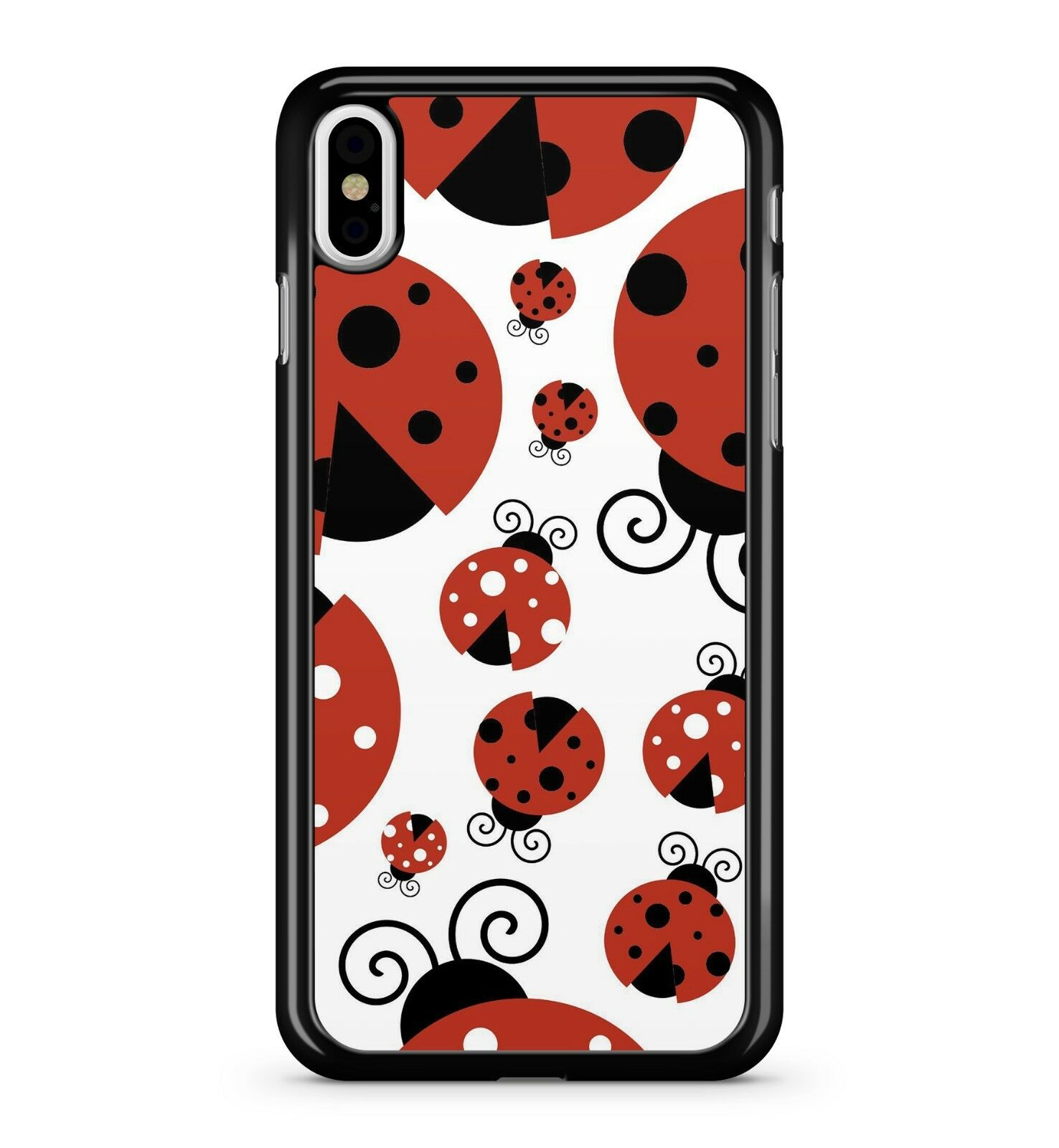 Details about Spotted Crimson Red Ladybird Pattern Beetle Insect Creature  2D Phone Case Cover