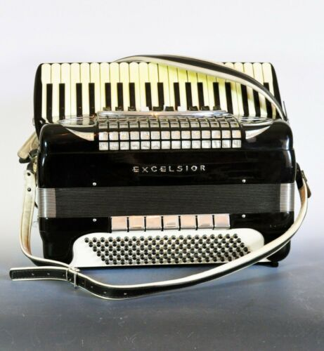 Excelsior Symphony Accordian - See and hear it play! -Awesome- Best of the Best!