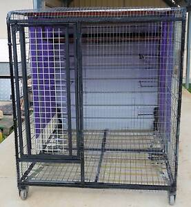 PERTH - UNUSED LARGE BIRD CAGE ON WHEELS - SUIT COCKATOO, GALAH. Swan View Swan Area Preview