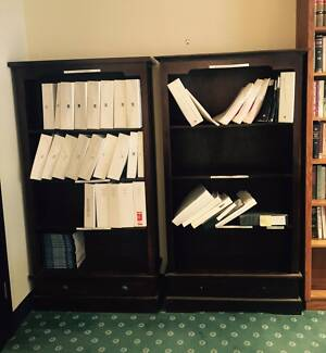 Wooden Bookcases located in Brisbane CBD - 4 at $40 each