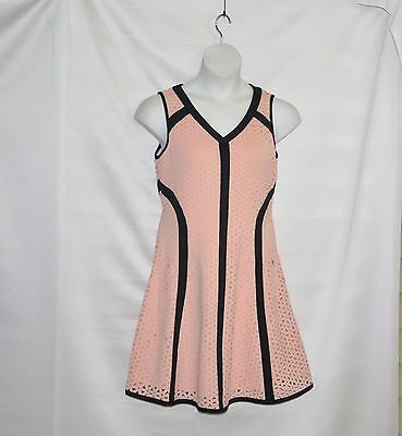 SA by Seth Aaron Perforated Scuba Dress Size 8 -