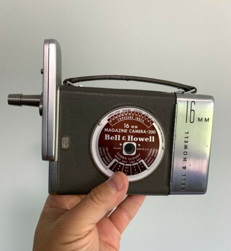 FILMO Auto Load 16mm Movie Camera Bell & Howell 16mm Vintage Works Bolex