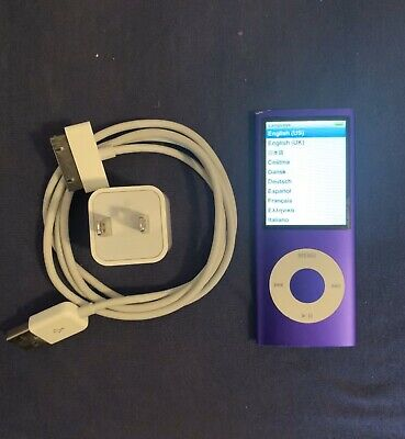 Apple iPod nano 4th Generation Purple (16 GB)