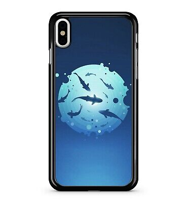 ean Wal Haie Punkte Gefüllt Kreis 2D Handy Hülle (Gefüllte Haie)