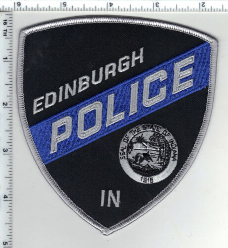 Edinburgh Police (Indiana)  Shoulder Patch - new from the 1980s