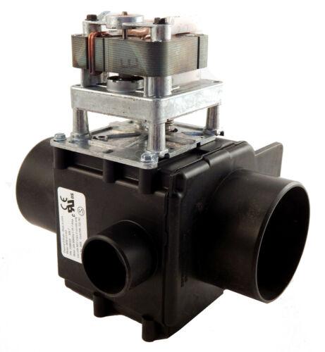 Image Depend-O-Drain Valve with Overflow, 3 inch, 24V/50-60Hz, NO, A0-E041-001