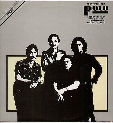 "POCO ~ FOUR TRACKS FROM POCO ~ 1977 UK 12"" SINGLE + P/S ~ ABC ABE 12011"