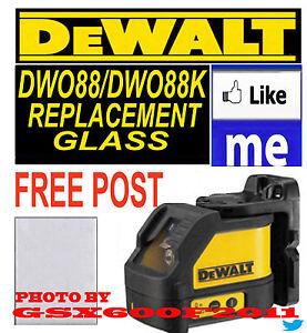 DEWALT DW088/DW088K REPLACEMENT GLASS/SCREEN/LASER LEVEL GET TOMORROW SE CUTOFF