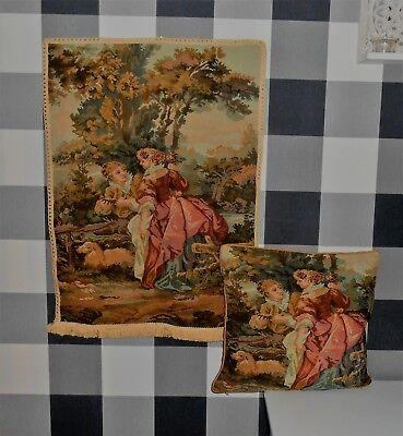 Classic Collection Teppich (BUGOR Classic Collection Wandbehang Wandteppich- 50 x 70 undKissenbezug)