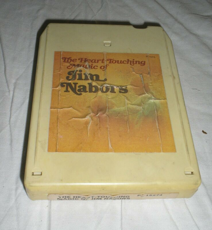 Jim Nabors - The Heart Touching Magic Of Jim Nabors - 8 Eight Track Tape