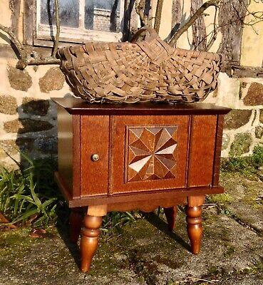 Vintage French Breton style Cupboard Bedside Cabinet Kitchen Cabinet Storage