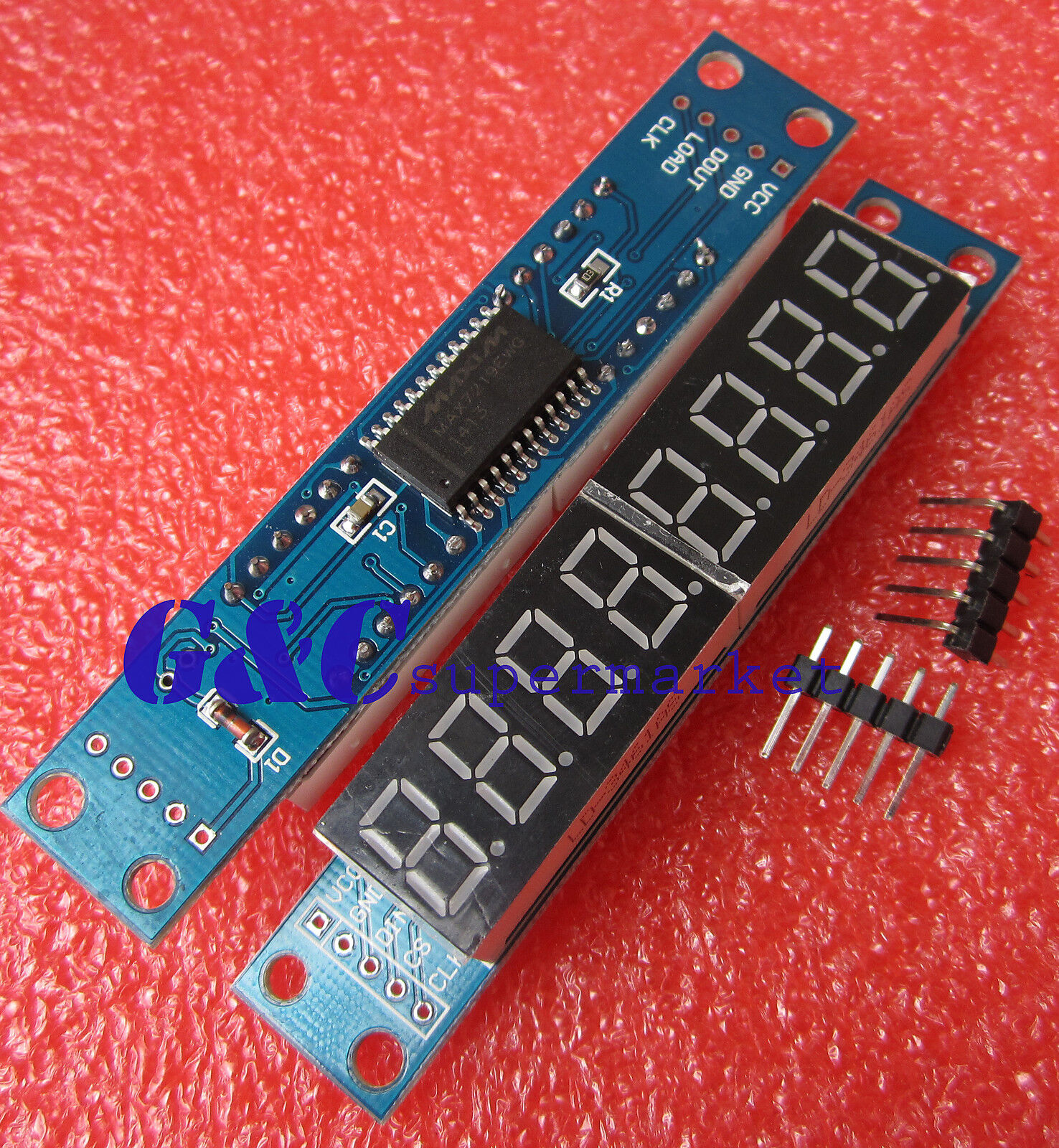 Max7219 Led Driver Goes Blank After A Few Hours Matrix Schematic Verification Forum Im Using One Of These